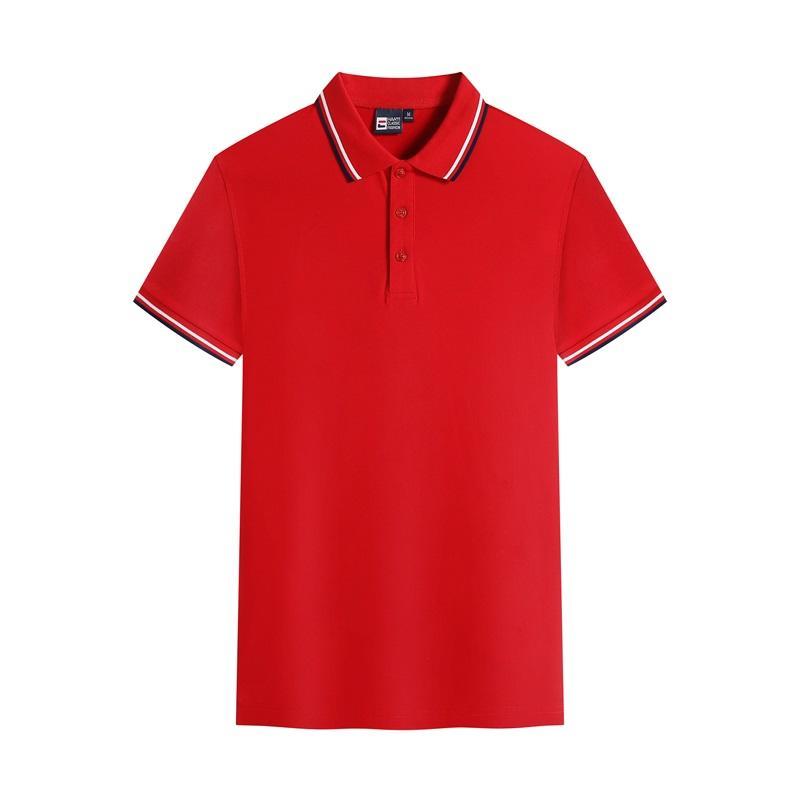 精品间色POLO衫 195-2199精梳全棉